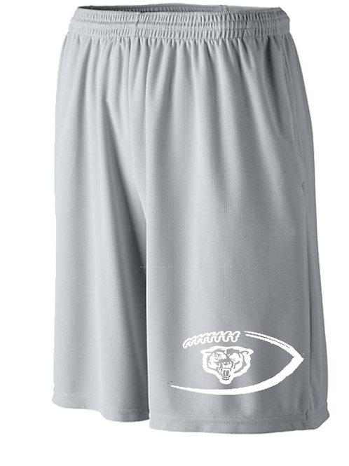 Silver Bears Football Shorts