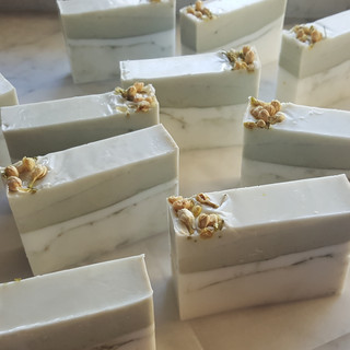 Goat's milk and french green clay
