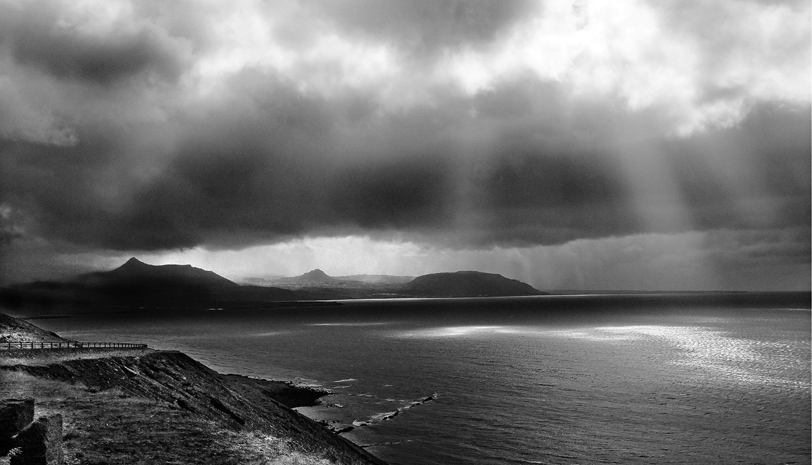 MONO - Headlands In Rain, Iceland by Danny McCaughan (10 marks)