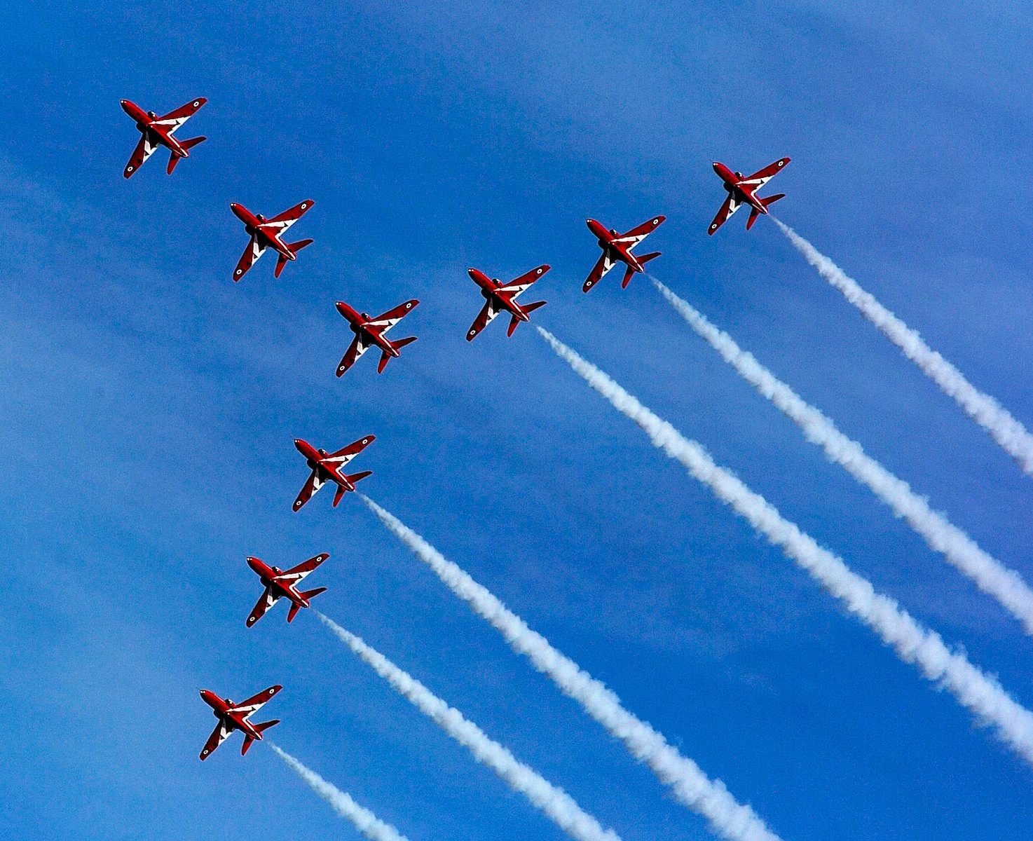 PDI - Red Arrows by Rowland White ( 7.5 marks)