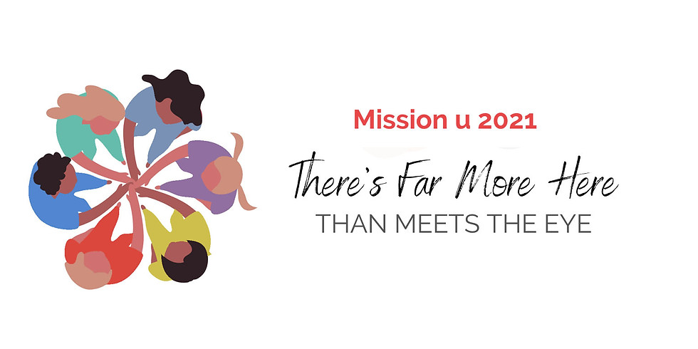 Mission U 2021-It's Back! Register by May 15, 2021