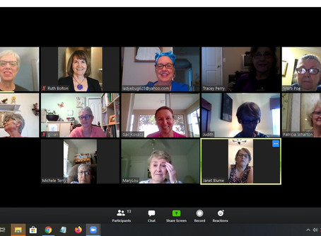 First Unit President's Zoom Meeting