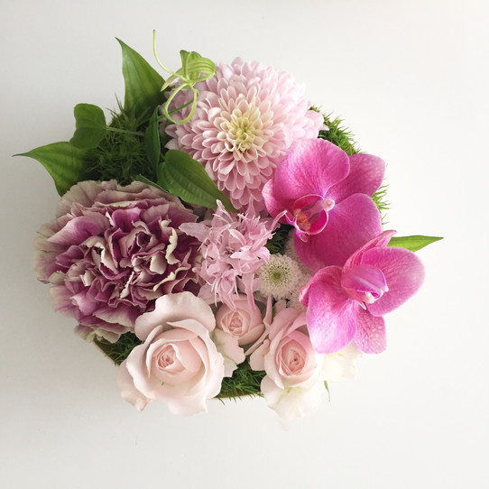 「花わっぱ」「プリわっぱ」タケノとおはぎ様にて