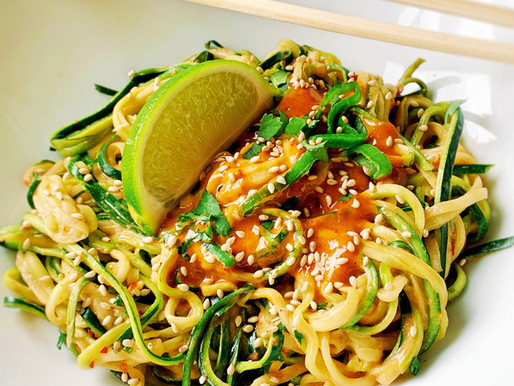 Spicy Asia Zoodles