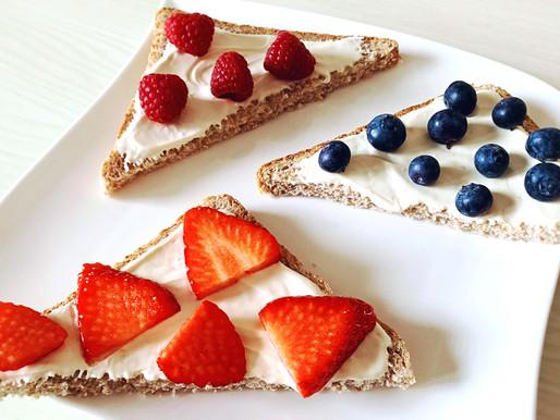 Berry Toasts