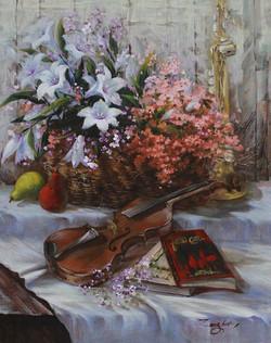 Harmony with Lilies