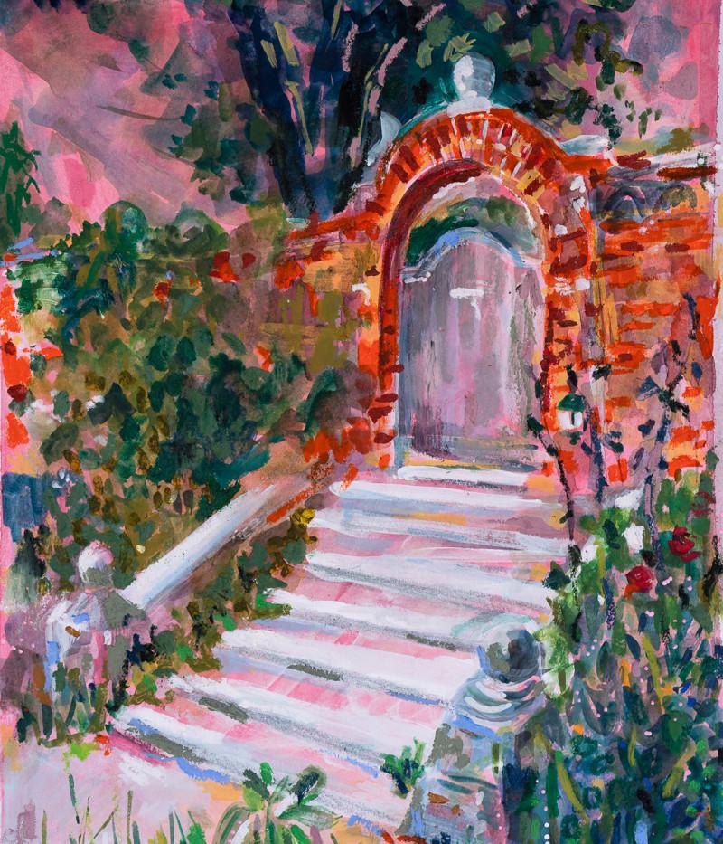 Glyndebourne Gate and Steps