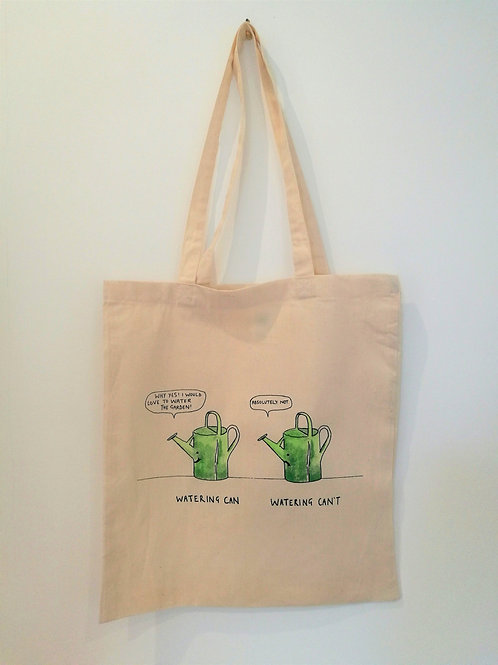 TOTE BAG - Watering Can