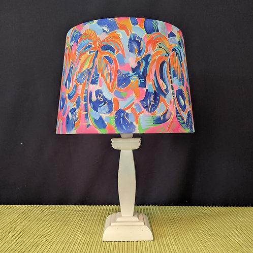 Shady McShadeface hand painted lampshade
