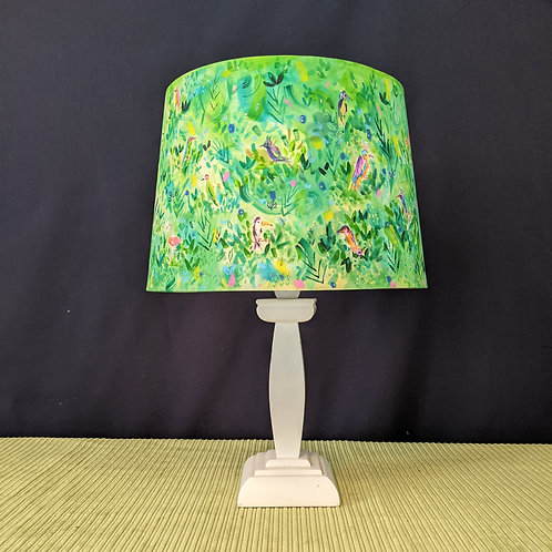 Polly Parrot hand painted lampshade