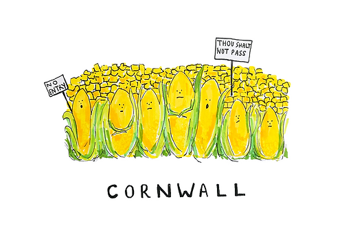 Cornwall Card