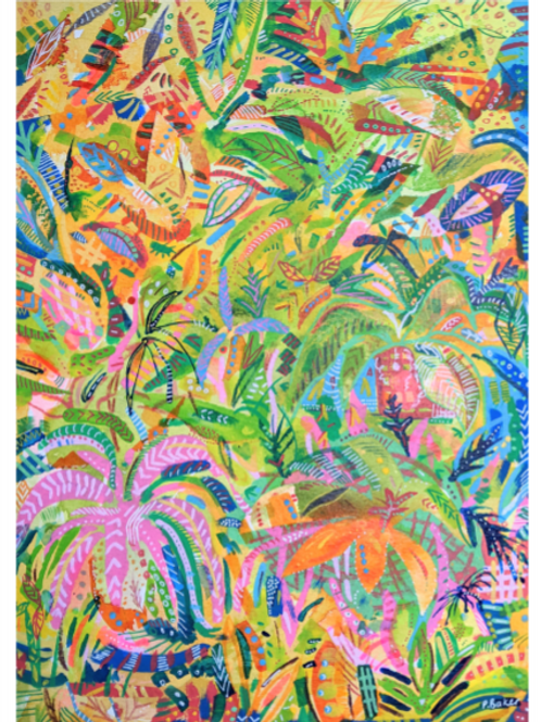 Colourful Plants - Fine Art Print