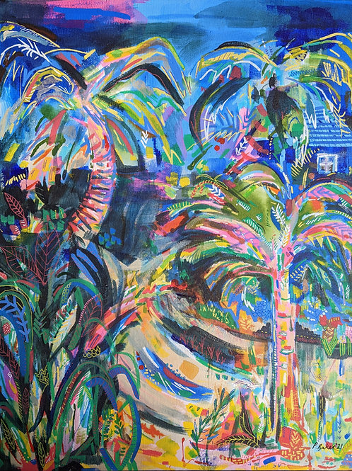 Disco Forest - Fine Art Print