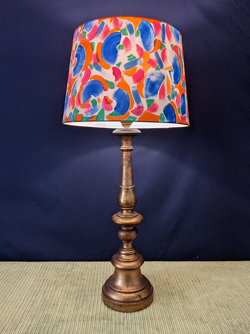 I Love Lamp hand painted lampshade - SOLD OUT