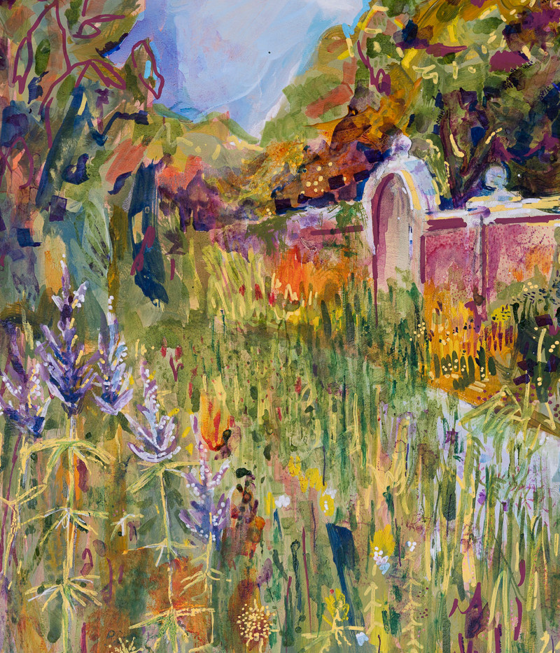 SOLD: View from the Flower Bed