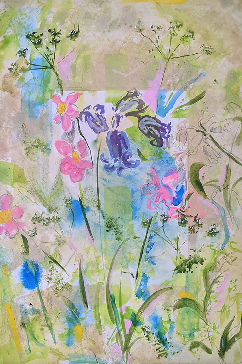 Wildflower Study II - Fine Art Print