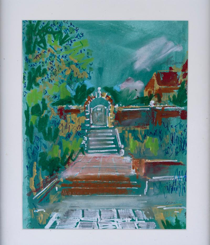 Glyndebourne Garden Steps