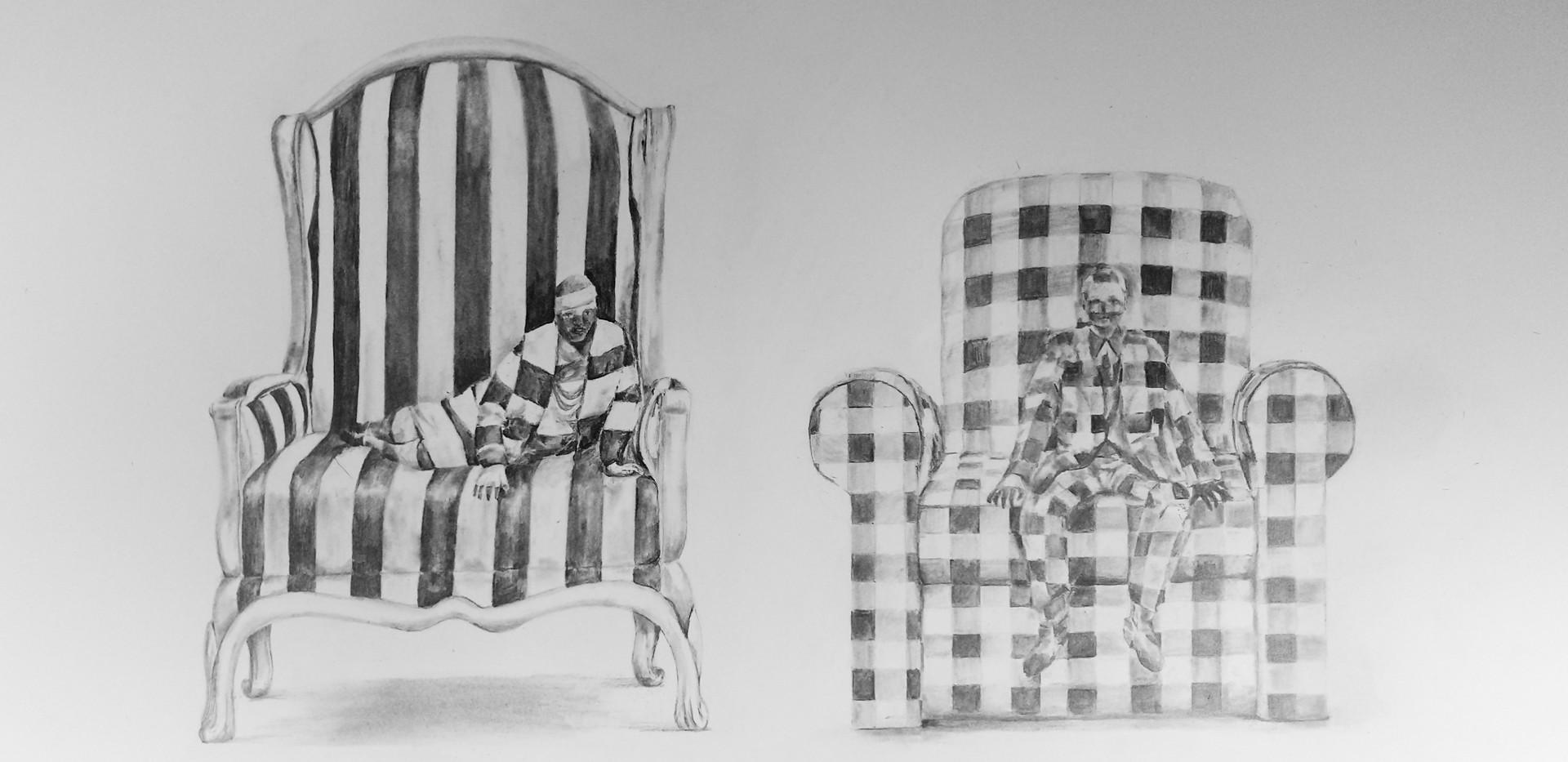 """Costumes from the """"L'enfant et les sortileges"""""""