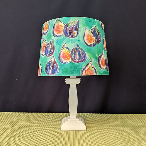 Fig hand painted lampshade