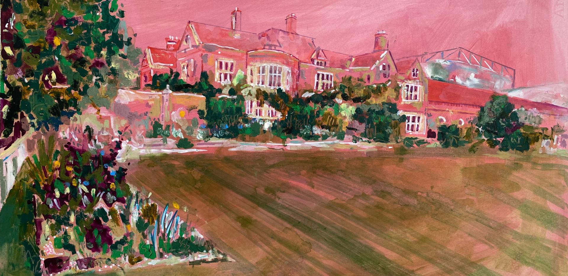 SOLD: Glyndebourne in Pink, 2020