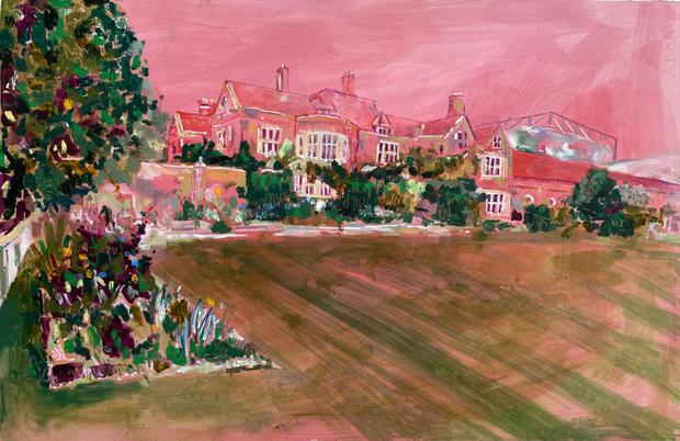 Glyndebourne in Pink