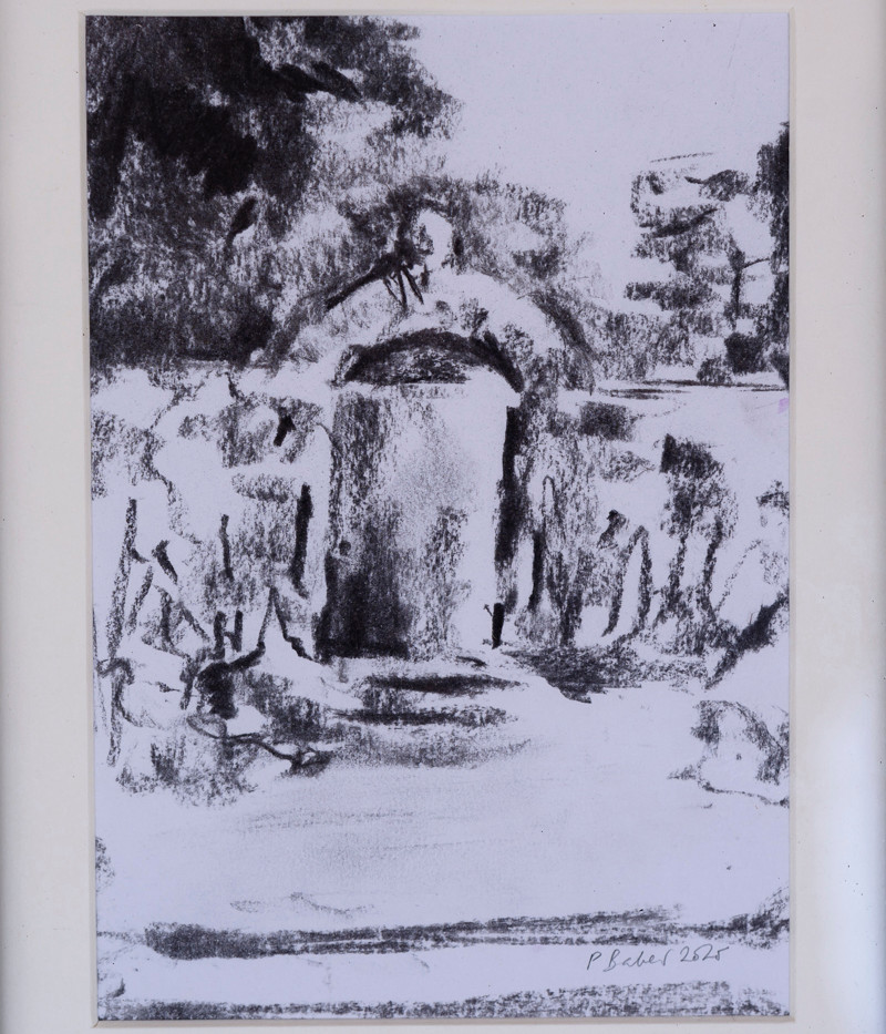 Gate in Charcoal