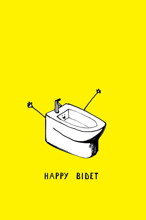 Happy Bidet Card