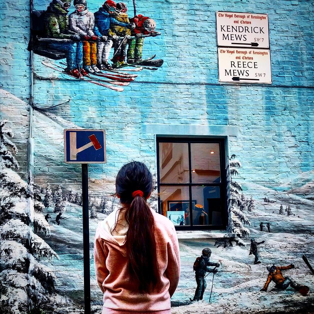 ציור קיר בשכונת קנזינגטון