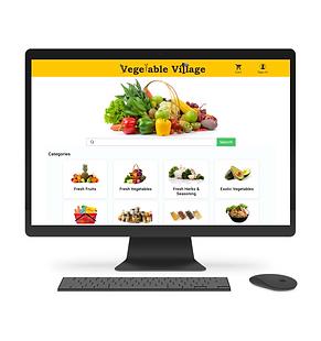 Dafidy's Vegetable Village E Commerce Platform
