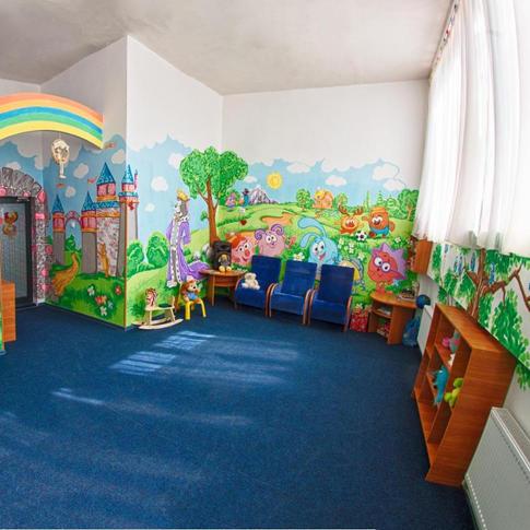 Area giochi attrezzata per bambini