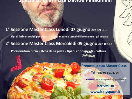 Master Class Pizza a Leopoli a Italy Space Lviv