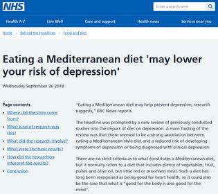Mediterranean diet - NHS