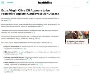 Protective Against Cardiovascular Disease