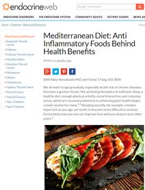 Anti inflammatory food