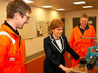 Zilift hosts First Minister of Scotland during visit.