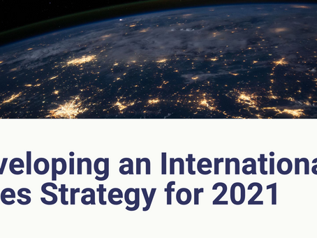Developing an International Sales Strategy