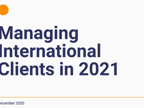 Managing International Clients in 2021