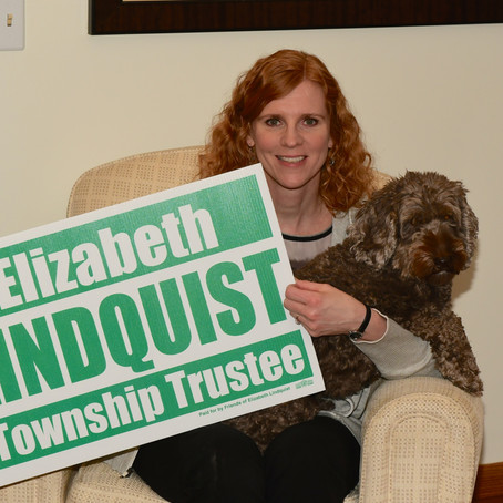 Yard signs and palm cards are here!