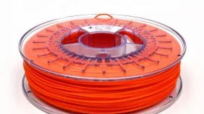 PLA Orange Octofiber