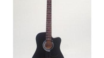Guitare miniature acoustique noire - Bon Jovi