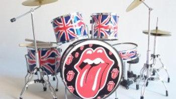 Batterie miniature - The Rolling Stones