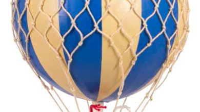 Ballon Double Bleu
