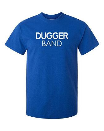 Dugger Band Blue Tee