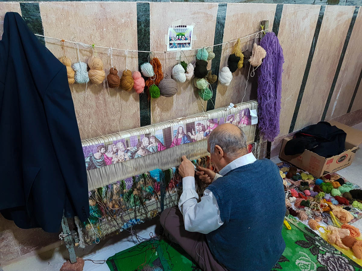 Tabriz weaver