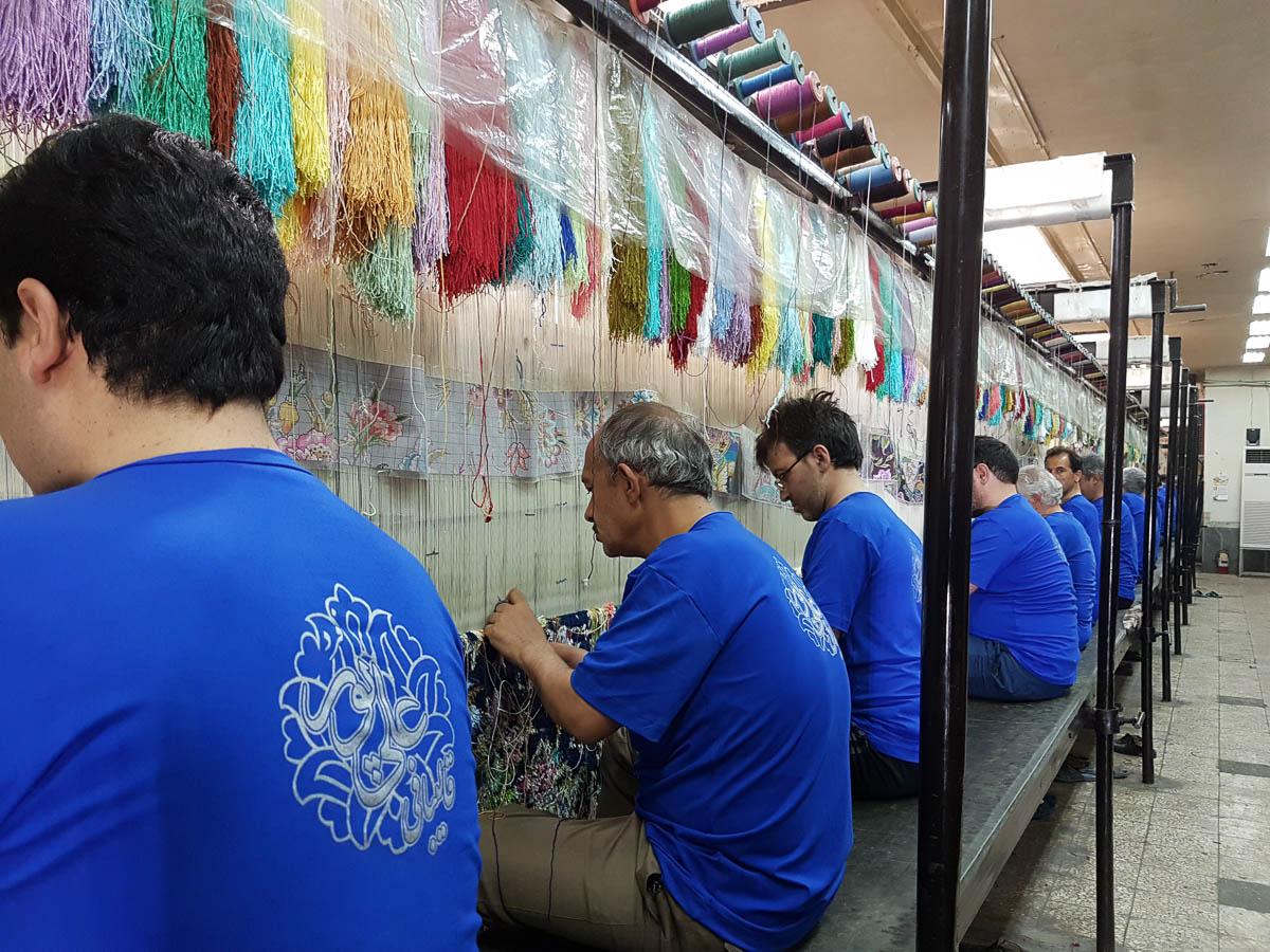 Tabriz weaving