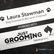 Laura-Stawman in association with Just Grooming