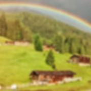 Alpiner Regenbogen. Bild: Lois Schmölzer