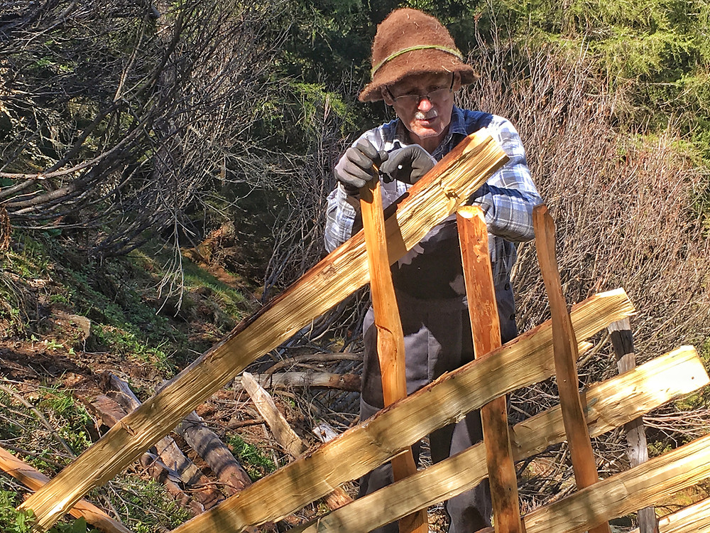 Luis Gatt leitete den Freiwilligeneinsatz am Bergmahd Öfen