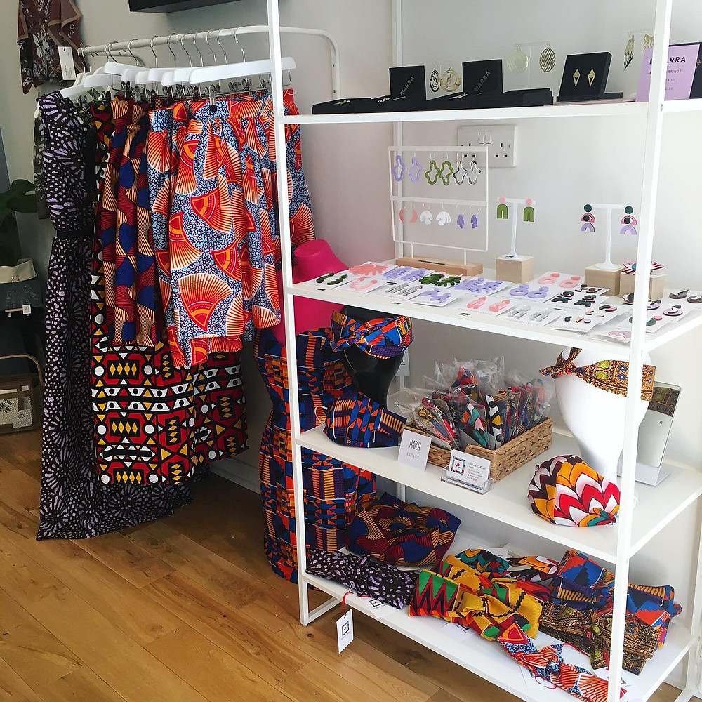 Nephtali Couture Stocked at Hatch Glasgow, Scottish Black Business Woman Women