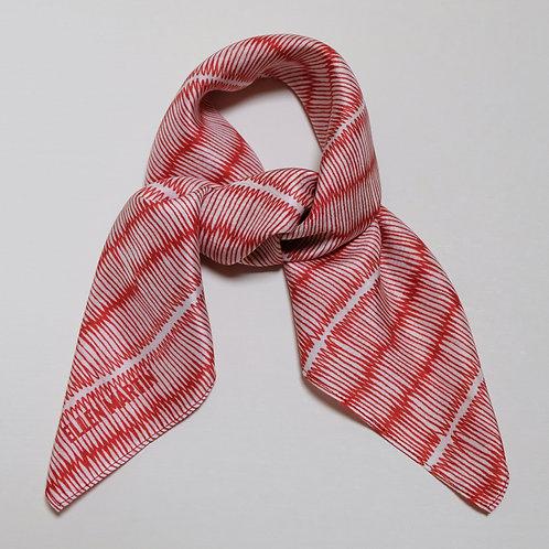 Tatami Small Silk Scarf